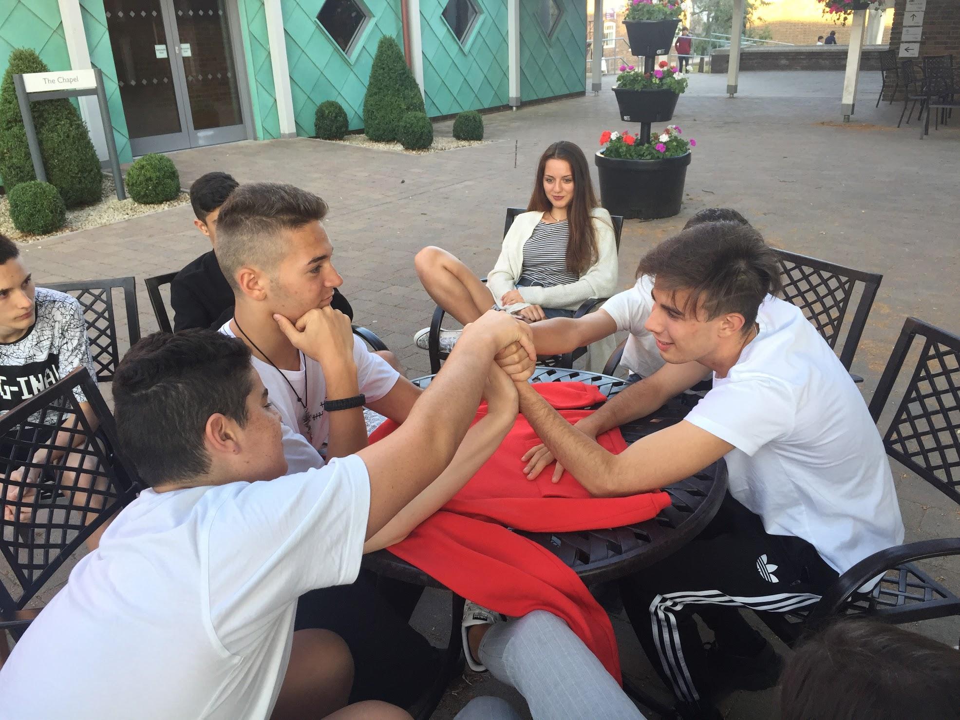 Keluar Students in Summer camp