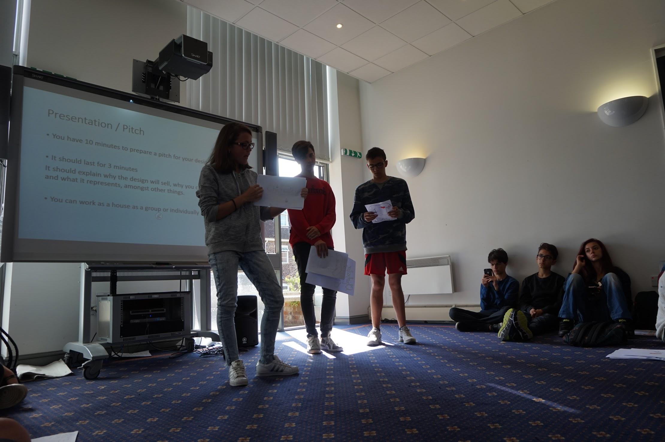 presentation pitch
