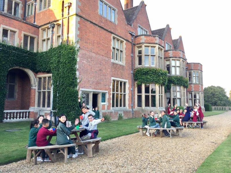 English course in a UK boarding school